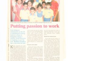 Newspaper article 001